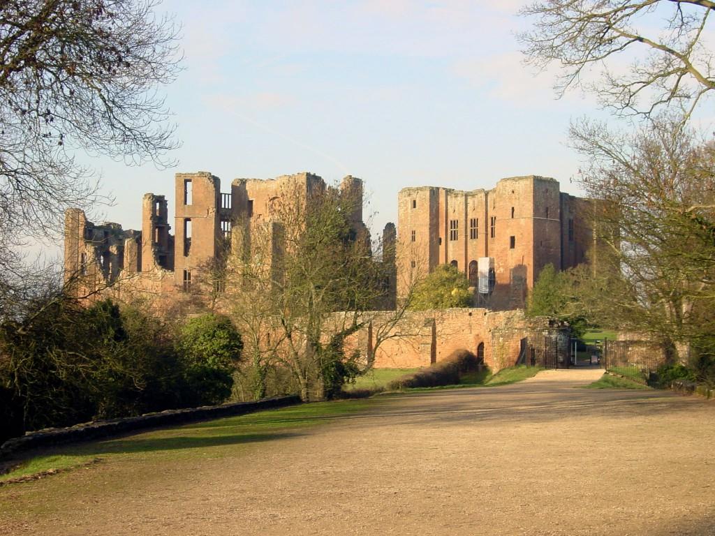 Kenilworth Castle in Warwickshire, England