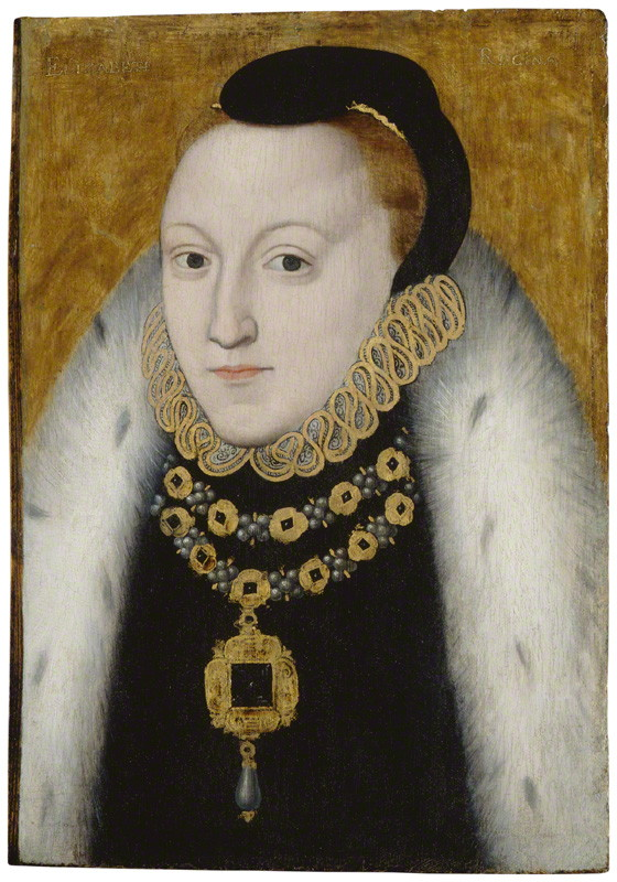 by unknown artist circa 1560; © National Portrait Gallery, London
