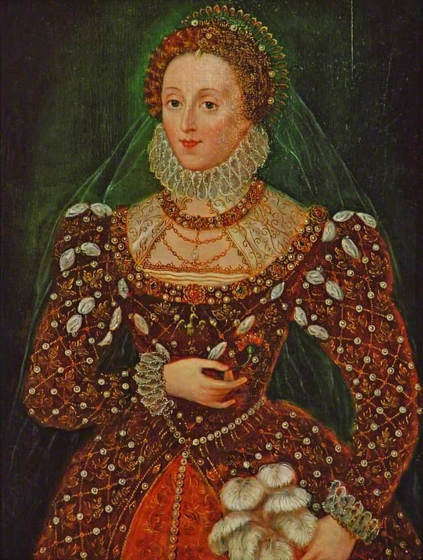 Zuccaro, Federico; Elizabeth I (1533-1603); Historic Environment Scotland; http://www.artuk.org/artworks/elizabeth-i-15331603-183147