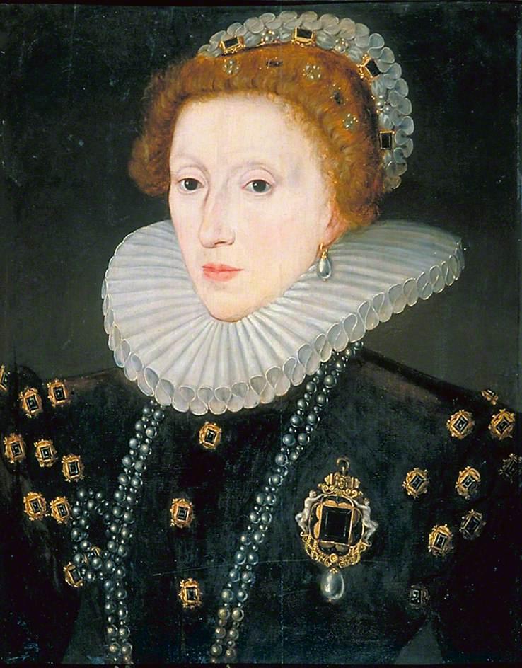 British School; Elizabeth I (1533-1603); Government Art Collection; http://www.artuk.org/artworks/elizabeth-i-15331603-27816
