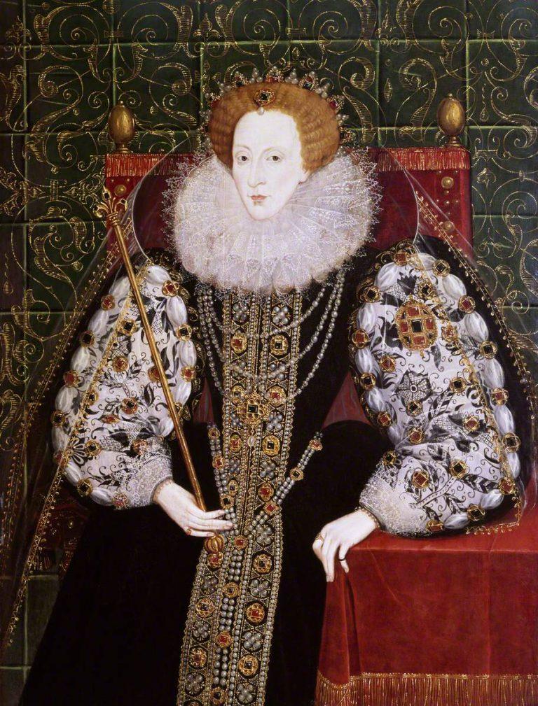 British School; Elizabeth I (1533-1603); National Maritime Museum; http://www.artuk.org/artworks/elizabeth-i-15331603-172711