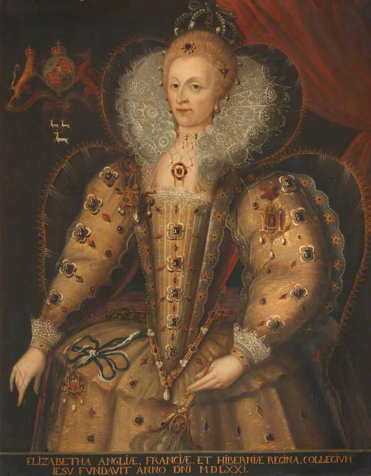 Sonmans, Wilhelm; Elizabeth I (1533-1603); Bodleian Libraries; http://www.artuk.org/artworks/elizabeth-i-15331603-228661