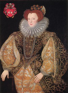 Portrait of Lettice Knollys, George Gower, 1595