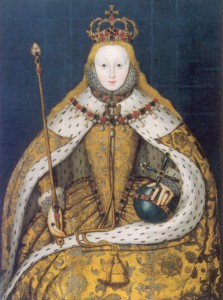Elizabeth I: The Coronation Portrait, c1600, unknown artist; copy of a lost original