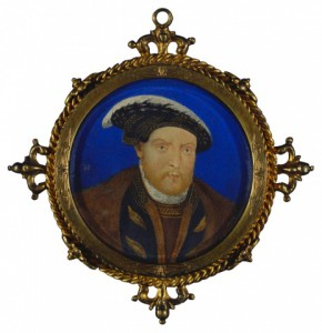 Attributed to British School, 18th century Henry VIII (1491-1547) 1700 - 1800 Watercolour on card