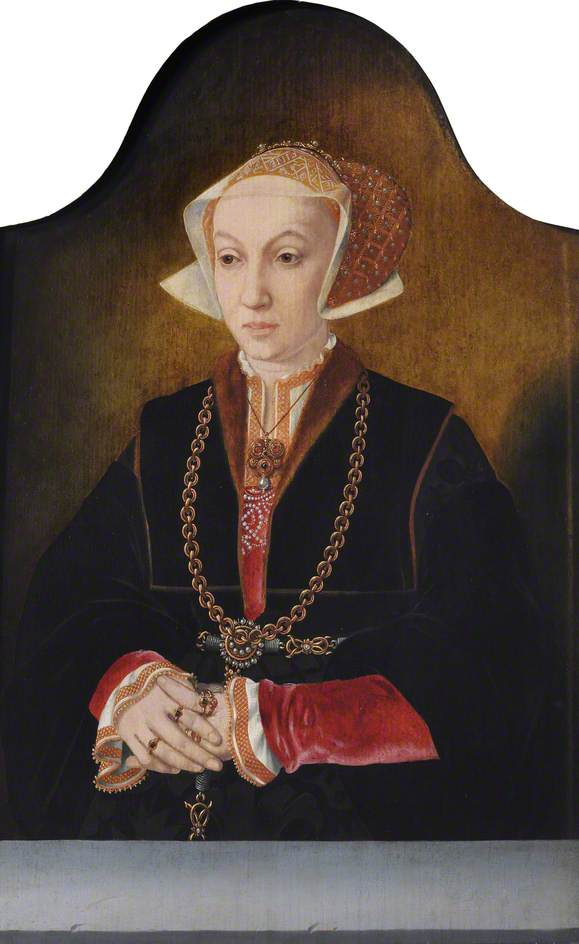 Bruyn the elder, Bartholomaeus; Anne of Cleves (1515-1557), Queen Consort to Henry VIII ; Trinity College, University of Cambridge; http://www.artuk.org/artworks/anne-of-cleves-15151557-queen-consort-to-henry-viii-134673