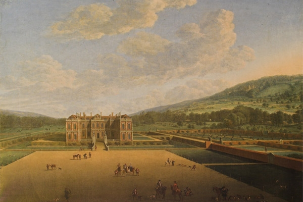 Althorp in 1677 by John Vosterman