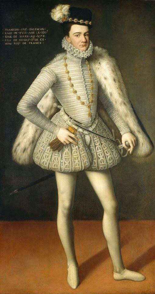 Portrait of François-Hercule de France, duke of Alençon and later of Anjou via National Gallery of Art