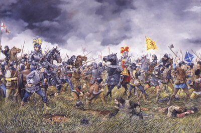 Battle of Flodden courtesy of http://www.douglashistory.co.uk/history/Battles/flodden.htm