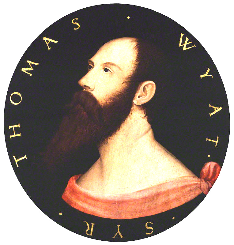 Sir Thomas Wyatt - after Hans Holbein the Younger, oil on panel, (circa 1540)