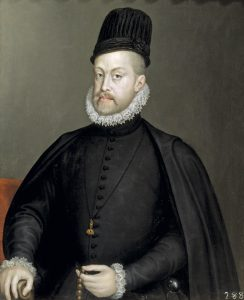 Philip II of Spain portrait housed in Madrid, photo attained from http://www.historytoday.com/geoffrey-parker/philip-ii-spain-reappraisal