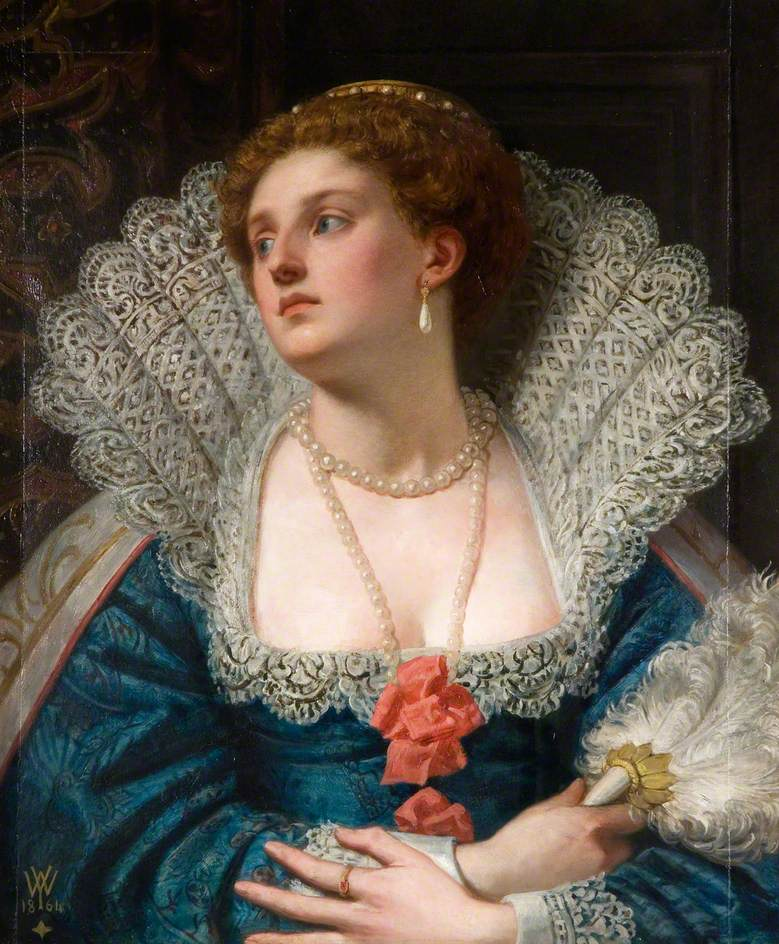 Amy Robsart (1532–1560) William Frederick Yeames (1835–1918) Wolverhampton Art Gallery