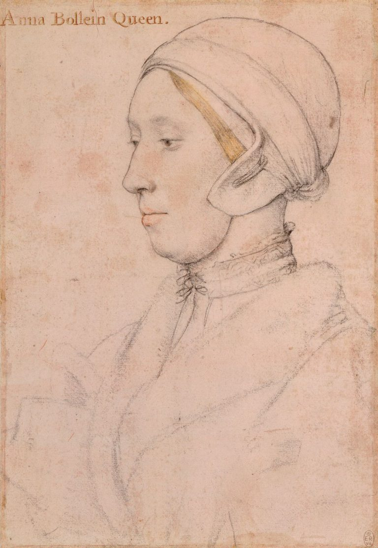 Hans Holbein sketch thought to be Anne Boleyn