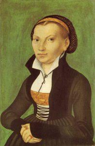 Katharina - Wartburg 1526 (Courtesy WikiCommons)