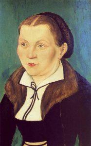 Katharina by Lucas Cranach the Elder (Courtesy WikiCommons)