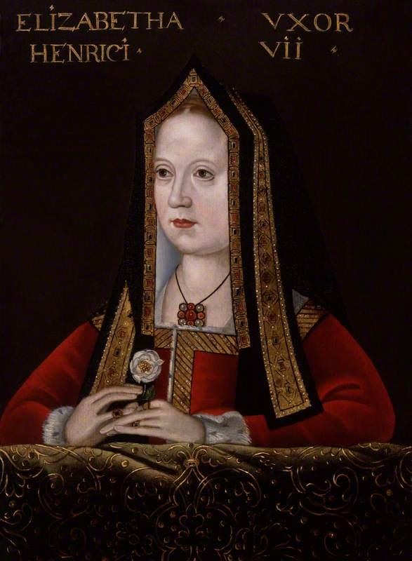 unknown artist; Elizabeth of York; National Portrait Gallery, London; http://www.artuk.org/artworks/elizabeth-of-york-158157