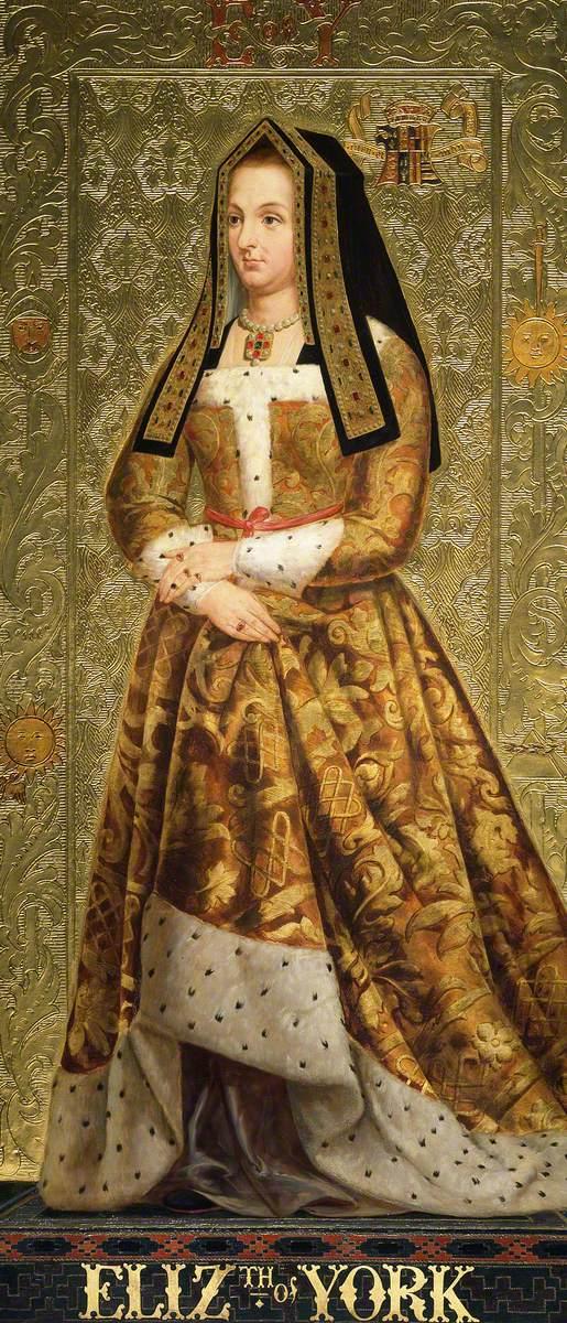 Burchett, Richard; Eliz.th of York (Elizabeth of York); Parliamentary Art Collection; http://www.artuk.org/artworks/eliz-th-of-york-elizabeth-of-york-213744