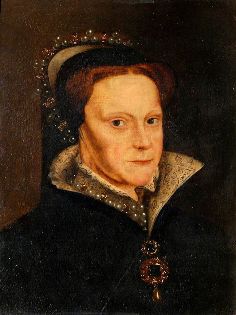 Mor, Antonis; Queen Mary I (1516-1558); Colchester and Ipswich Museums Service; http://www.artuk.org/artworks/queen-mary-i-15161558-11425