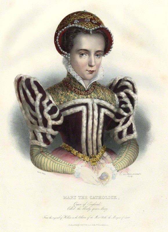 by Émile Desmaisons, printed by François Le Villain, published by Edward Bull, published by Edward Churton, after Unknown artist hand-coloured lithograph, 1834 NPG D34627