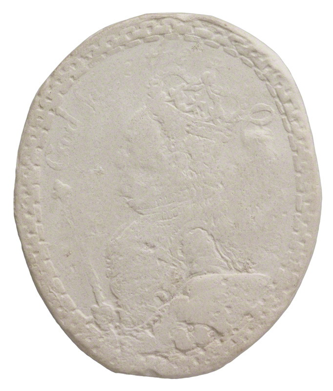 after Unknown artist plaster cast of a medal, (16th century) NPG D36118
