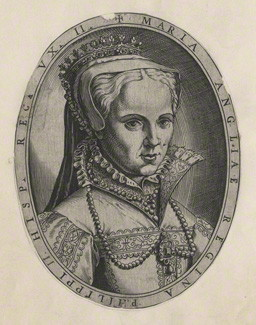 after Unknown artist line engraving, 1554 or after NPG D17821