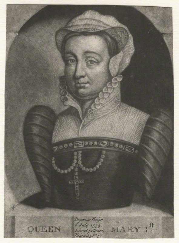 after Unknown artist mezzotint, 18th century NPG D17823