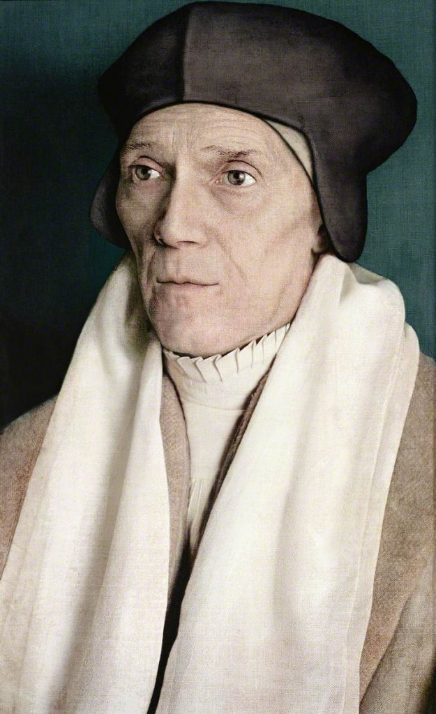 Hodgson, Paul; John Fisher (1469-1535), Bishop of Rochester, Confessor and Adviser to Lady Margaret Beaufort; St John's College, University of Cambridge; http://www.artuk.org/artworks/john-fisher-14691535-bishop-of-rochester-confessor-and-adviser-to-lady-margaret-beaufort-146362