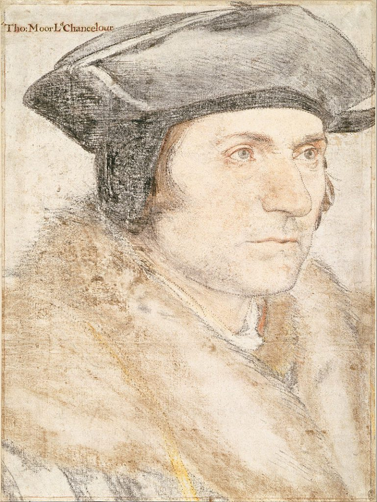 Sir Thomas More by Hans Holbein th eYounger