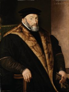 Posthumous portrait of Thomas Audley (c.1488–1544), 1st Baron Audley of Walden, 1569.[1]