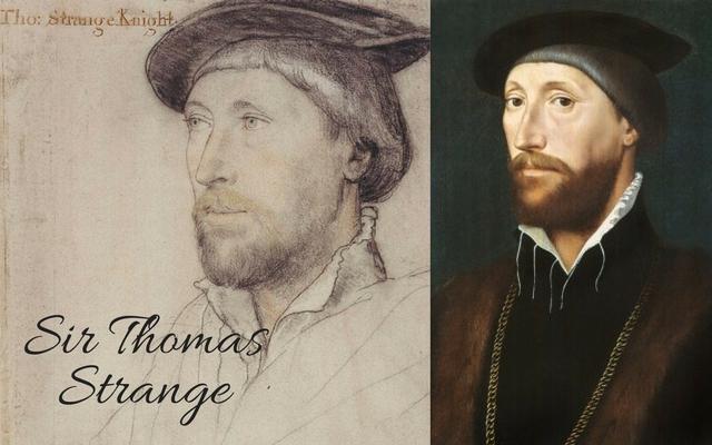 Sir Thomas Lestrange, c.1536