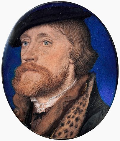 Thomas Wriothesley, 1st Earl of Southampton by Holbein Courtesy of the Metropolitan Museum of Art, New York, New York.
